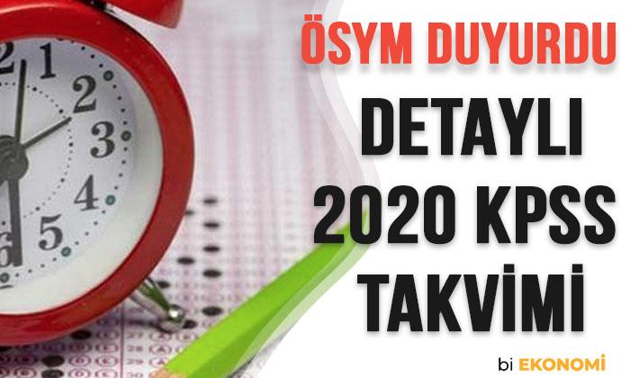 2020 KPSS ne zaman KPSS başvuru tarihleri ÖSYM duyurdu